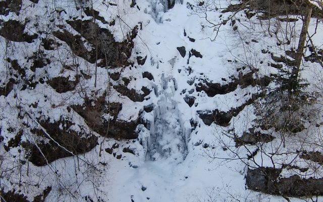 三頭大滝全面凍結